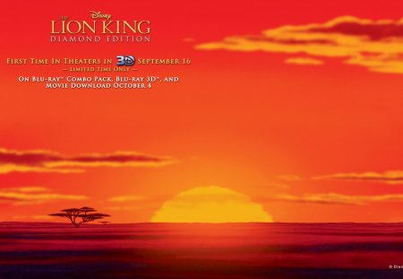 The Lion King Diamond Editon Movies Entertainment Background
