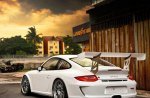 gt3 cup white car