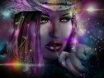 prismatic  girl