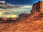awesome desert scape hdr