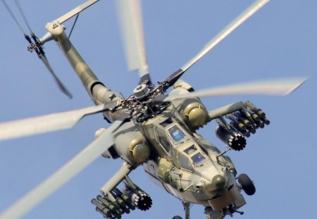 fighter helicopter - gun, fighter, war, helicopter