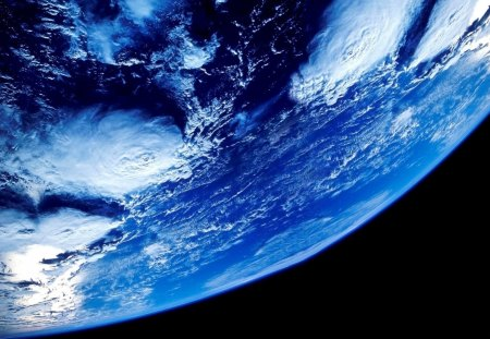 Beautiful Planet - blue world, blue plent, earth from space, earth, pretty earth, Beautiful Planet