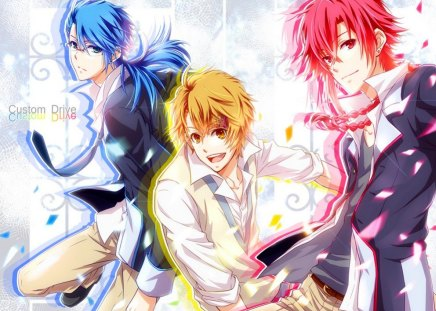 Friends Forever!!!! :D - Male Anime and Fantasy Wallpapers ...