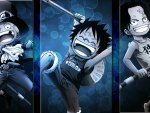 One piece Sabo, Luffy and Ace