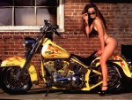 Chopper Bike Babe