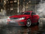 Red Mercedes-Benz C63