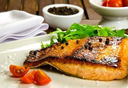 *** Dinner *** - fresh, fish, food, dish
