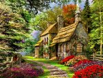 Rustic cottages