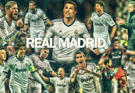 Real Madrid Wallpaper 2013