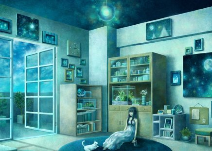 All Alone Other Anime Background Wallpapers On Desktop