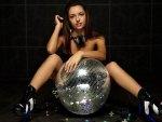 disco ball deejay.