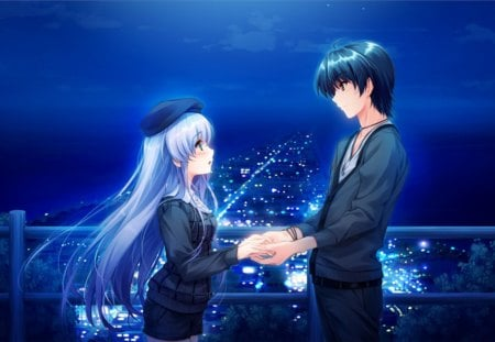 Blue Romance Other Anime Background Wallpapers On