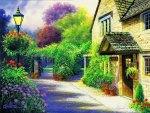 Pretty village