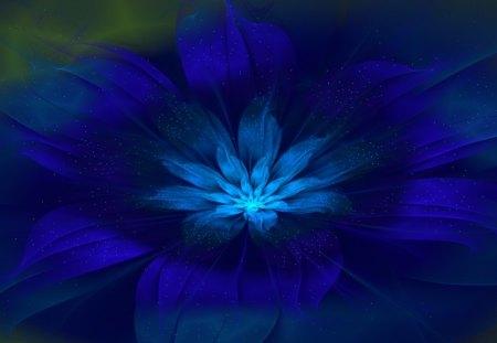 A really pretty sapphire blue flower.