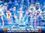 FC BARCELONA - AC MILAN