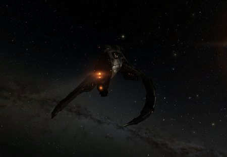Dardevil in space - videogame, online, space, game, eve, spaceship, shadowneo29, ship, Dardevil