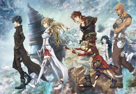 SAO - Asuna, Sword Art Online, Kirito, SAo