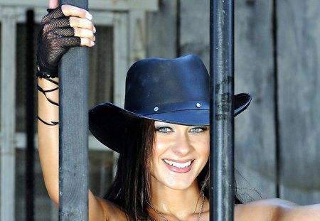Cowgirl Melisa Mendiny Behind Bars