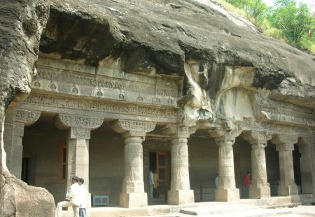 Ajanta Caves. - have, been, these, caves