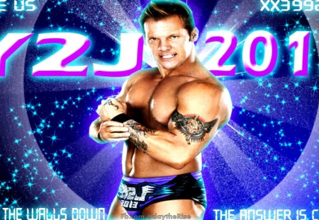 Y2J 2013,Chris Jericho. - wrestling, athlete, sports, chris jericho, wwe