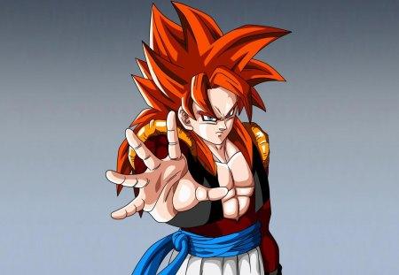 Super Saiyan 4 Gogeta Dragonball Anime Background