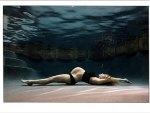 Pregnant model underwater
