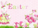 Sweet Easter Bunny Pink