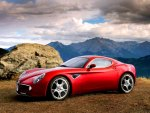 Alfa Romeo - beautiful in red