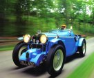 1934 mg roadster blue