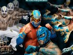Sin Cara and Rey Mysterio (Carsterio)