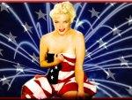 Patriotic Marilyn