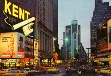 Times Square - New York (1972) - Cities, 1972, USA, New York, Times Square
