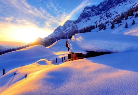 Ice Mountains Mountains Nature Background Wallpapers On