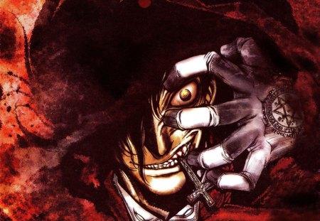 Alucard - Hellsing - mihi, aequus, hellsing, monster, vampire, anime, alucard, demon
