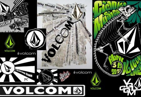 Volcom Stone - Graffiti & Abstract Background Wallpapers on ...