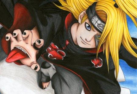 Deidara naruto anime background wallpapers on desktop nexus image 1400345 - Deidara wallpaper ...
