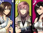 Yuna, Lightning, Tifa
