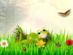 Fine Froggy Spring Day
