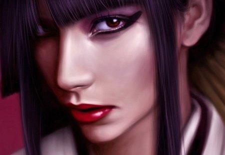 Akiko - women, fantasy, eastern, geisha