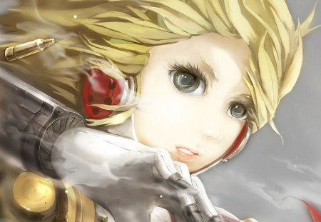 Persona 3 - Pretty, green eyes, Beautiful, game, cyborg, Gorgeous, Sweet, persona, gaming, anime, Awesome, Emotional, Sexy, Lovely, manga, Amazing, smile, blonde hair, rpg, aegis, blond hair, Serious, short hair, Cute, aigis, smt, shin megami tensei, persona 3