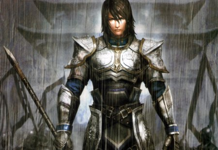 Wen Yang - games, male, soldier, video games, dynasty warriors, armor, warrior, weapon, wen yang, armour