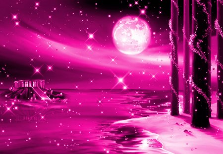 Dream World Pink - fantasy arts, fantasy, dream, pink