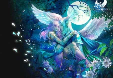 Dream World People - fantasy arts, romantik, fantasy, romance, anime
