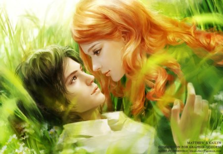 Dream world of romance - fantasy arts, romantick, fantasy, romance, natur, anime love