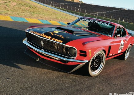 Adrenaline High - Racer, Classic, Ford, Mach 1