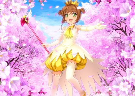 Sakura Kinomoto Card Captor Sakura Anime Background