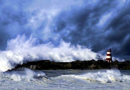 Sea Storm Oceans Nature Background Wallpapers On Desktop