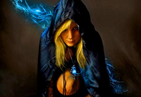 Arcane Sorcery - fantasy, magic, women, tattoo