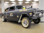 1955 Chevrolet Gasser drag car