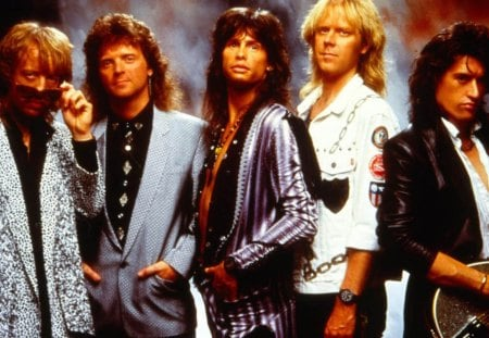 Aerosmith (early) - music, other, entertainment, people